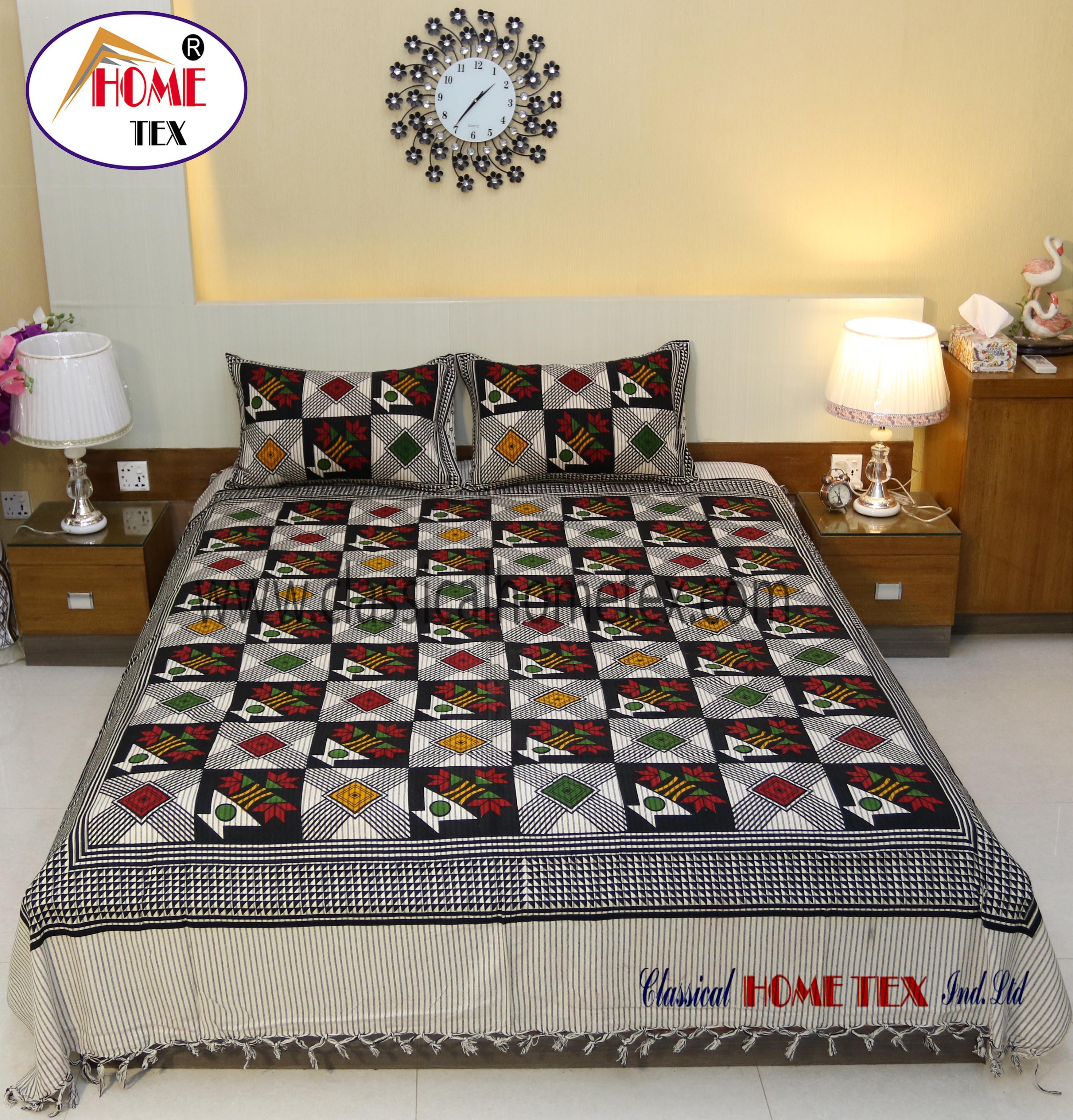 Good ... IC Jaipuri Bed Sheet 1389 101