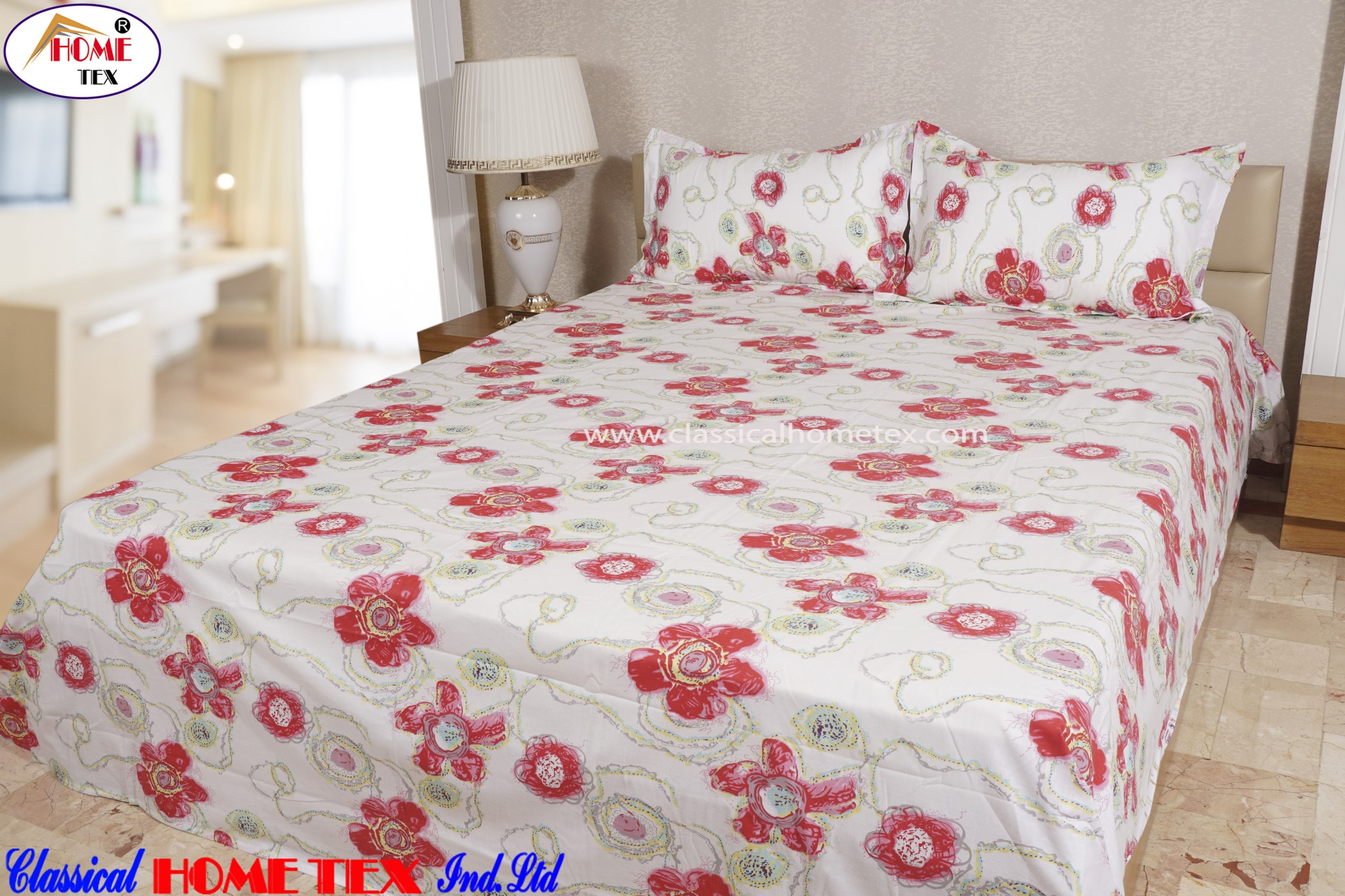 J1 Double Bed Sheet 1001   202
